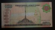 TURQUIE - Billet De 10.000 Manat  – 2003 - N° BE4441105 - Turkménistan