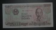 VIETNAM - Billet De 2000 Dong – 1988 - N°PD 0307946 - Vietnam