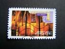 OBLITERE FRANCE ANNEE 2011 N° 562 SERIE ART GOTHIQUE SAINTE CHAPELLE DE PARIS  AUTOCOLLANT ADHESIF - France