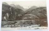 CPA Italie -  Disentis,  Blick Auf  Medelser Gletscher - Italia