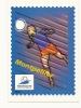 Cp, Foot, En Route Pour La XVIè Coupe Du Monde De Football - Montpellier (Représentation De Timbre) - Calcio