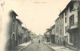 SAINT DONAT - Rue De La Poste - Photo L. Charvat - 2 Scans - Sin Clasificación