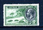 Cayman Islands KGV 1935 5/- Hawksbill Turtles HM (SG 106) - Cayman Islands