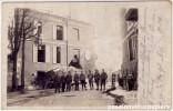 CARTE PHOTO ALLEMANDE    PERONNE  1917   Ruines MAISON LEVASSEUR? - Peronne