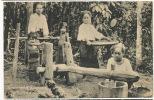Siam Siamese Women Milling Rice Rice Mill Moulin A Riz   Edit Tuck Bangkok No 893 - Thaïlande