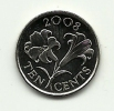 2008 - Bermuda 10 Cents, - Bermuda