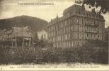 19k - 63 - La Bourboule - Puy De Dome - Source Fenestre - Hotel Des Iles Britanniques Et Plateau De Charlannes - La Bourboule