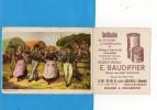 50 Saint Nicolas Près GRANVILLE - Buvard - Rectification De Cylindres Et Villebrequins - Buvards, Protège-cahiers Illustrés