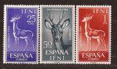 IF203-B114TAMO.Marruecos.Maroc.Marocco..IFNI  ESPAÑOL Pro Infancia.Mamiferos1964.(Ed 203/5**) .MUY BONITO - Sellos