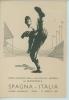 ITALIA-SPAGNA 1° INCONTRO DELLA NAZIONALE AZZURRA DI BASEBALL 31/08/1952 - Baseball