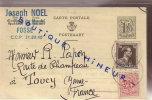 BEL ENTIER POSTAL - Stamped Stationery