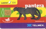TARJETA DE MEJICO DE UNA PANTERA NEGRA (PANTER) - Unclassified