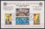 Philippinen, Bl.9 A , O  (848)* - Philippines
