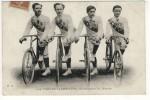LES  FRERES  JACOWLEW- CHAMPIONS  DU  MONDE  N379 - Cyclisme