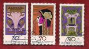GERMANY 1977 Cancelled Stamp(s) Jugendstill 923-925 - [7] Federal Republic