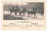D2591     BERLIN / HAMBURG : H. Käse's Rundfahrten - Attelages