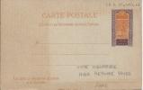 Entier Postal Haut Sénégal Et Niger, CP 6 Avec Réponse Payée - France (ex-colonies & Protectorats)