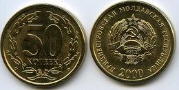 Moldavie Moldova Transdniestrie Transdnistria 50 Kopek 2000 UNC KM 4 - Moldavie