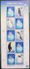 2010 JAPAN ANTARCTIC TREATY SHEETLET PENGUINS - Blocks & Sheetlets