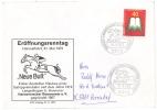 Cover / Brief / Lettre 1973 Mi 740, Sonderstempel Galopprennbahn Langenhagen Bei Hannover - BRD