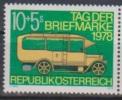 """Österreich1978:  """"Tag Der Briefmarke""""  Postfrisch - 1945-.... 2ª República"""