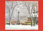 Place Jacques Cartier, L´hiver  -  Adrien Hébert, Canada (carte De Voeux) - Cartes Modernes