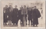 CARTE PHOTO   SAINT  GAULTIER 1914   LA CREUSE GELEE - Non Classés