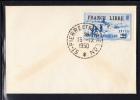 """St Pierre Et Miquelon Scott #255 20fr On 90c Ultramarine Unaddressed Cover Postmarked """"15 12 1950"""" - Brieven En Documenten"""