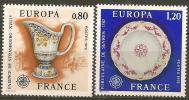 FRANCE - Yvert - 1877/78** - Cote 2 € - Europa-CEPT