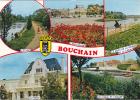 19457 Bouchain, Multivues,poste Etang Pont Canal Esplanade -3CP84.6236. Cim Blason