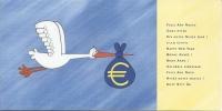 Cigogne Apportant L´Euro - Monnaies (représentations)