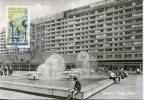 Germany Ddr  Dresden Prager Strasse Brunne, 1979 Fountain  Architecture - Maximumkarten (MC)