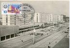 Germany Ddr  Magdeburg,  Karl Marx Strasse,  1969 Architecture - Maximumkarten (MC)