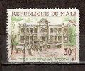 Timbre Mali Y&T N°138 Oblitéré. Dents Courtes. Poste Centrale De Bamako. 30 F. Cote ??? € - Mali (1959-...)