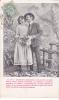 """19501 Couple Amoureux, """"je Veux Bercer Ton Ame Fermer Tes Yeux """"  N° 3 -série Jardin 1907 - Couples"""