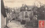 Cpa Mont-Saint-Aignan. La Rue De La Corderie - Mont Saint Aignan