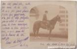 CARTE PHOTO    CHATELUS LE MARCHEIX ? PEYRUSSE?  1904  Signée LOUIS DE ROYER - France