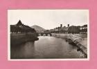 CPSM..( Dépt 25 )..BESANCON :  Le Doubs , Le Quai Vauban Et Le Pont De Battant - Besancon