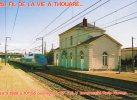 Thouaré..la Gare..passage Du 1er TGV..train..T.G.V..ligne Paris-Nantes - France