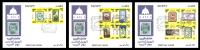 Egypt - 2011 - FDC Sets ( Post Day 2011 - Post Museum ) ... - Briefmarken Auf Briefmarken
