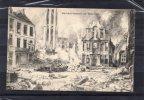 23544    Belgio,   Bombardement  De  Malines,  VG  1919 - Mechelen