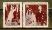 AITUTAKI 1972 MNH Stamp(s) Royal Silver Wedding 44-45 - Royalties, Royals