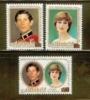 AITUTAKI 1981 MNH Stamp(s) Royal Silver Wedding 406-408 - Royalties, Royals