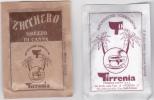 2 Sachets De Sucre Tirrenia - Sucres