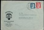 WW II Brief : Reichsnährstand Brilon - Hallenberg 1943 . - Lettres & Documents