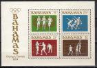 Bahamas,SOG-Los Angeles '84. 1984.,block,MNH - Bahamas (1973-...)