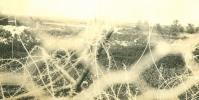 Photo Guerre 14-18 WW1  Bombardement Ruines Cote 100 En Face De Sapigneul - Guerre, Militaire