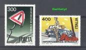 Italy 1984 Mi 1867-1868 MNH - Polizia – Gendarmeria