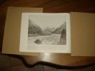 LA MER DE GLACE .   SUISSE Avec Descriptif...photogravure De 109 Ans D´âge... Envoi  , Voir Annonce 150313760 - Lieux