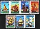 TANZANIE:  1499/1505 + BF 229 Voiliers (neuf Sans Charniere)** - Tanzanie (1964-...)